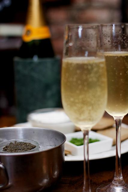 Champagne and Caviar