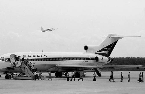 Delta Air Plane