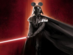 Mickey Mouse Darth Vader