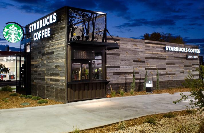 New Starbucks Store Denver
