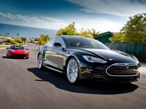 Tesla Roadster and Model S