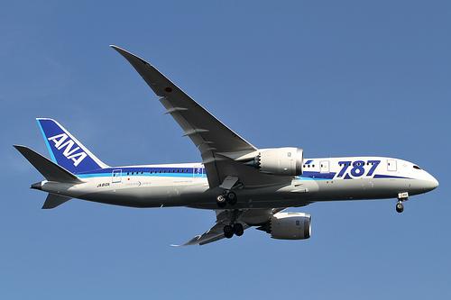 Boeing 787 Dreamliner Airplane