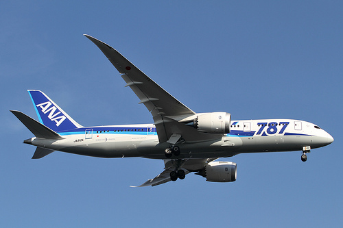 Boeing 787 Dreamliner Airplane
