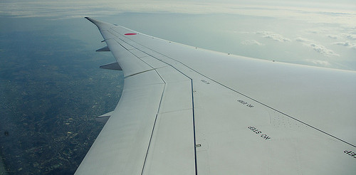 Boeing Dreamliner Airplane Wing