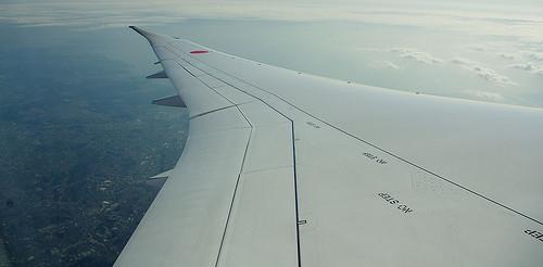 Boeing Dreamliner Airplane Wing