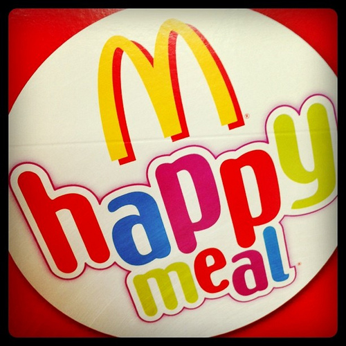 McDonald Happy Meal 2