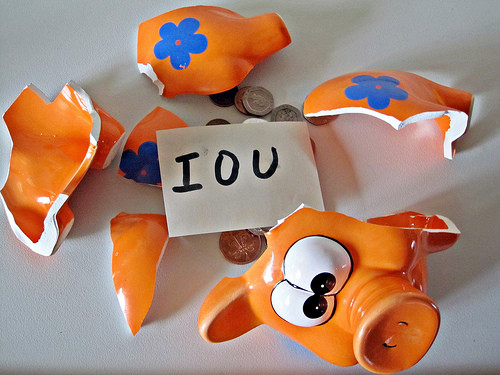 Piggy Bank IOU