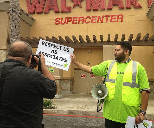 Wal-Mart Strike 2