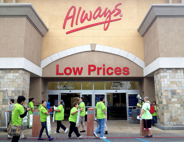 Wal-Mart strike 3