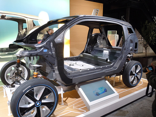 BMW i3 Carbon Body