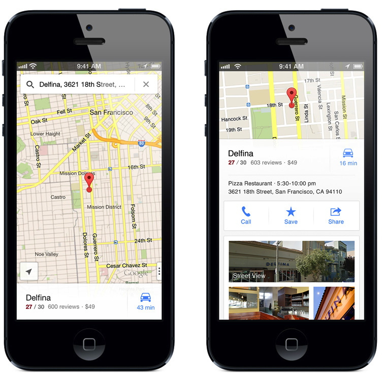 Google Maps on an iPhone   7 iPhone Mistakes You're Making Every Day