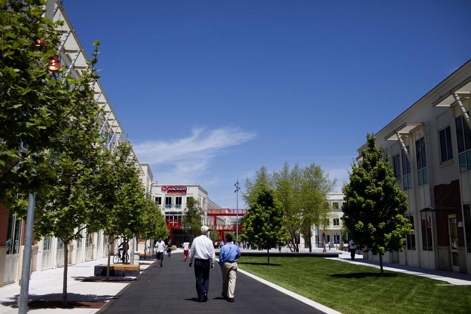 Facebook's Existing Campus