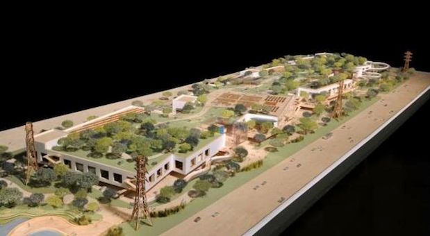 Mock-up of Facebook's Second Campus