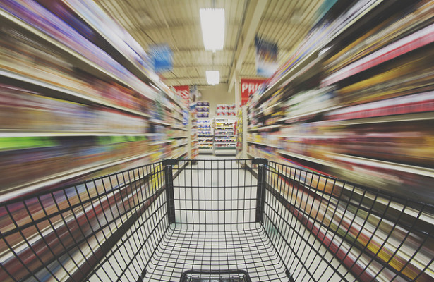 shopping cart grocery store retail consumer