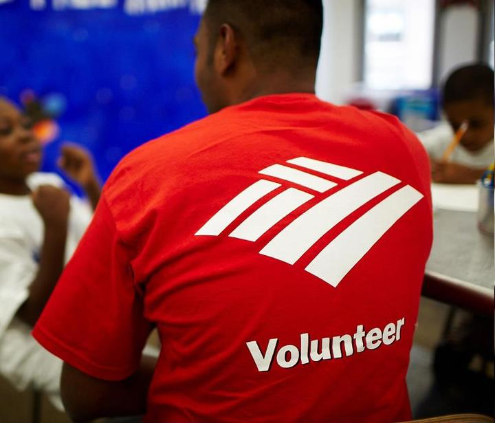 Bank of America Volunteer