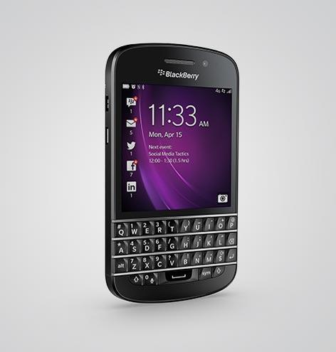BlackBerry Q10 QWERTY