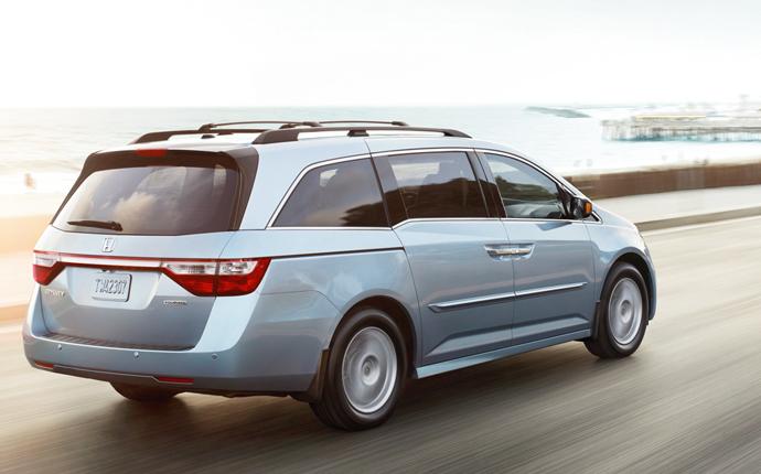 Honda Odyssey 2013 van