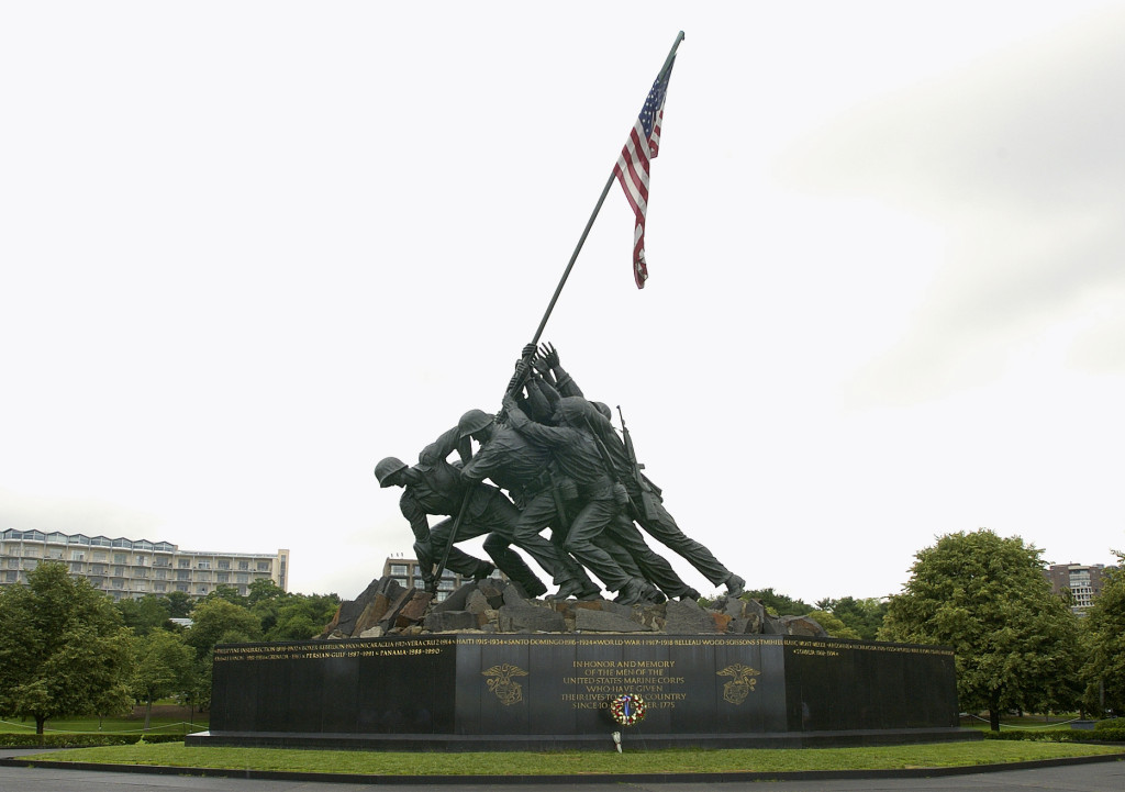 Memorial_US_Navy_The_Marine_Corps_War_Memorial_stands_as_a_symbol_of_this_grateful_Nation's_esteem_for_the_honored_dead_of_the_U.S._Marine_Corps