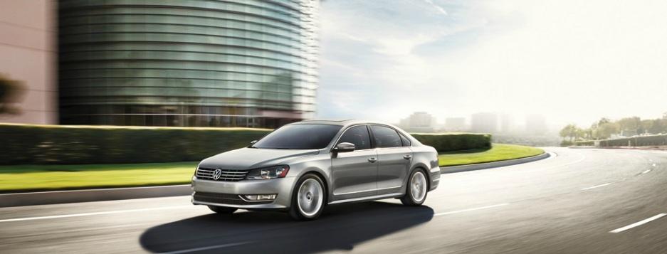 Volkswagen Passat TDI driving car
