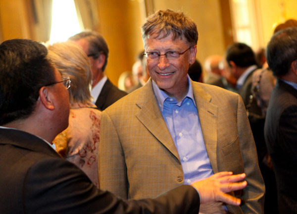 bill gates CEO summit