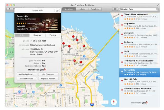 Mac Maps