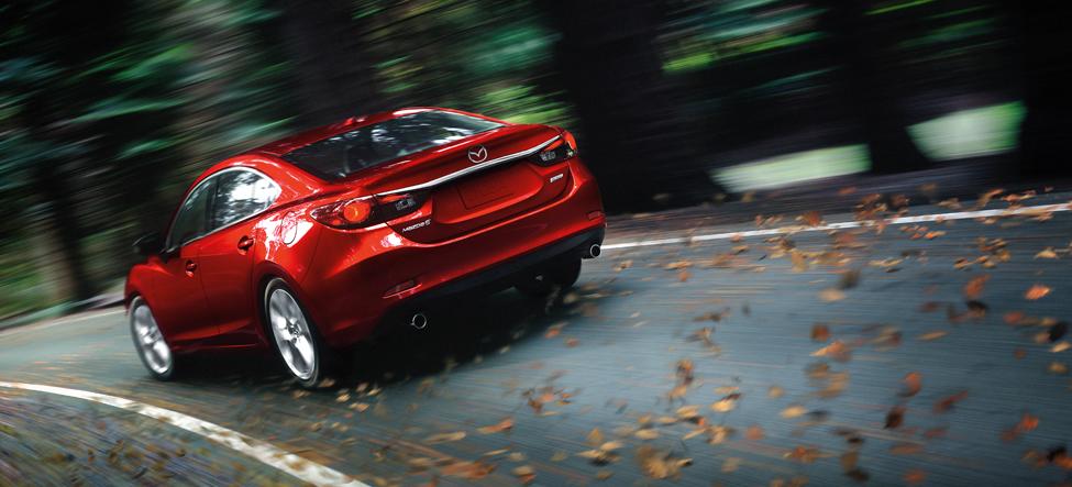 Mazda 6 2014 car drive