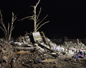 Oklahoma National Guard aids search and rescue for Moore, Okla. tornado