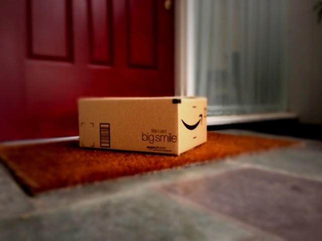 amazon big smile - Amazon Christmas Delivery