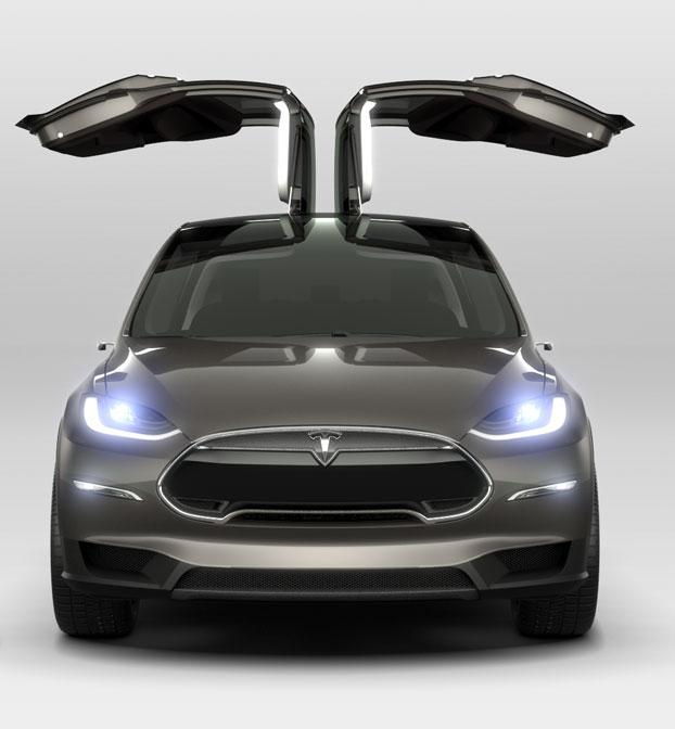 Tesla Model X Front