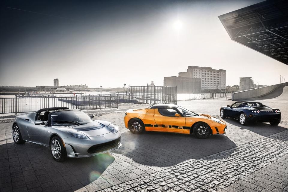 Tesla Roadsters