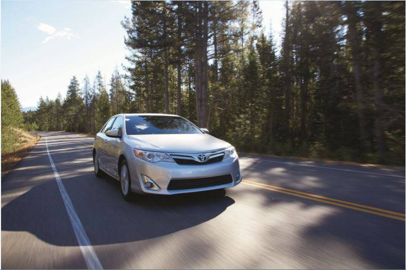 Toyota Pulls Out The Stops To Keep The Camry At 1