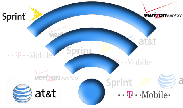 providers wifi symbol sprint verizon at&t t mobile intro image