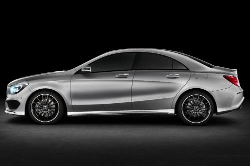 2014 Mercedes-Benz CLA class sedan