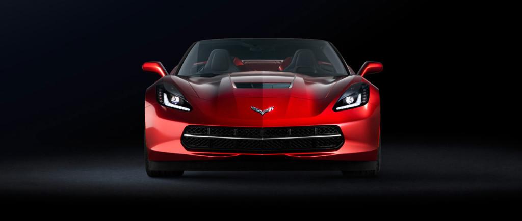 Corvette Stingray Front