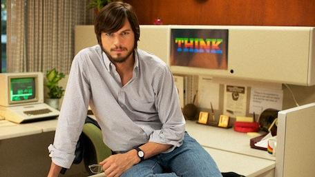 Kutcher as Steve Jobs