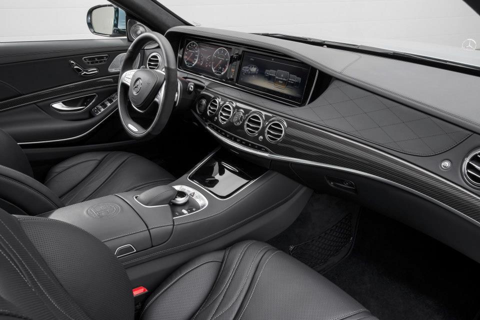 Mercedes Benz S63 AMG Interior