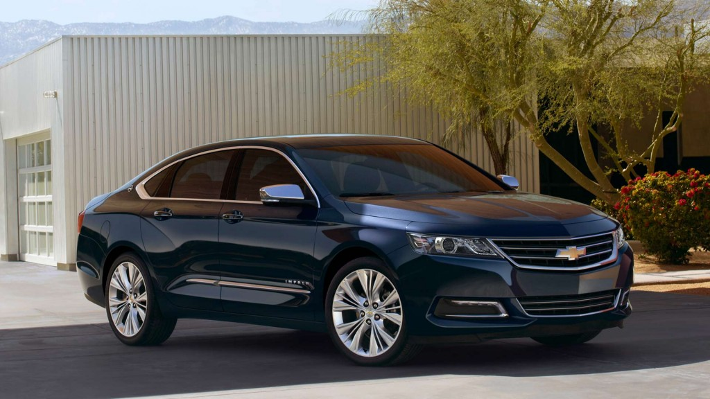 Black Chevy Impala, 2014 model year