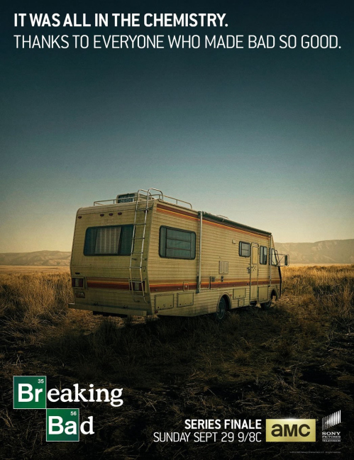 Breaking Bad Finale Poster