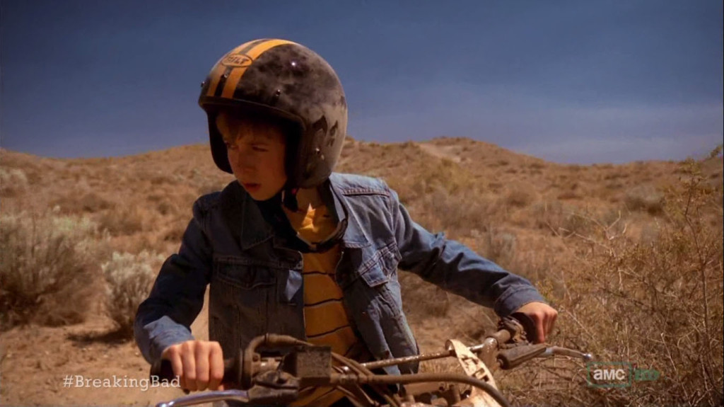 Breaking Bad Boy in Desert
