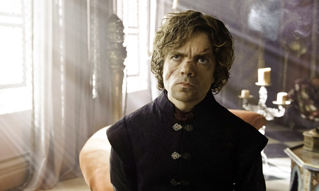 Game of Thrones … Peter Dinklage as Tyrion.