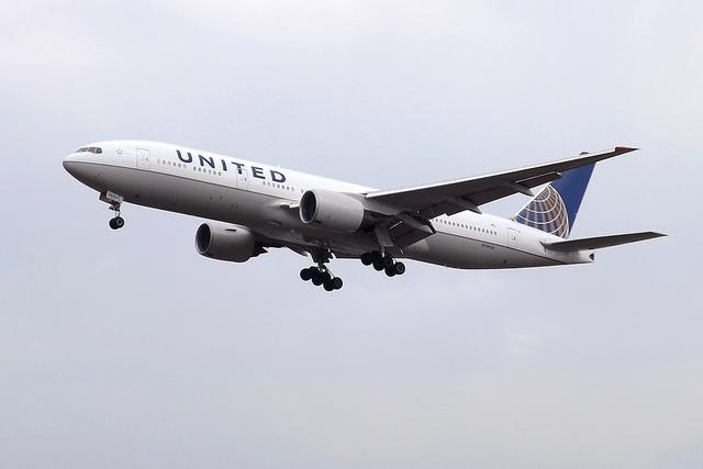 United Boeing 777
