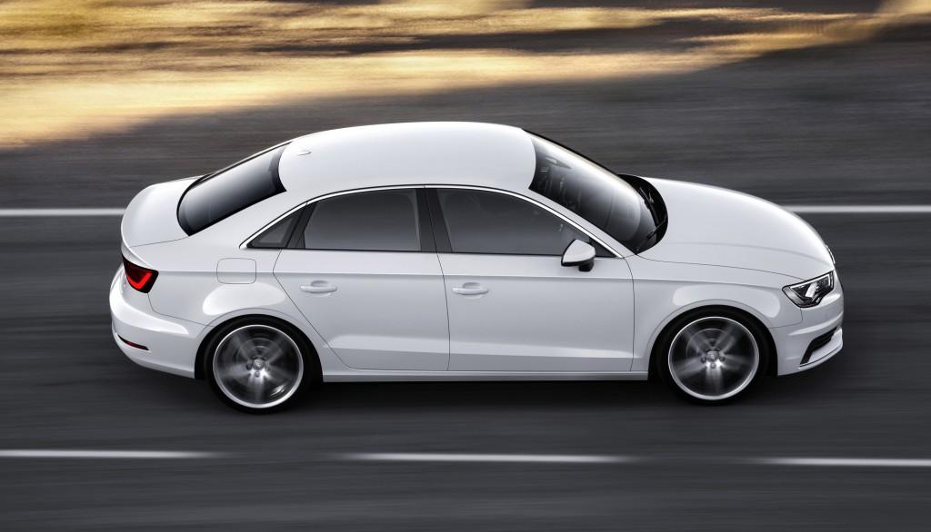 Die Audi A3 Limousine geht an den Start/Ingolstadt, 20. September 2013