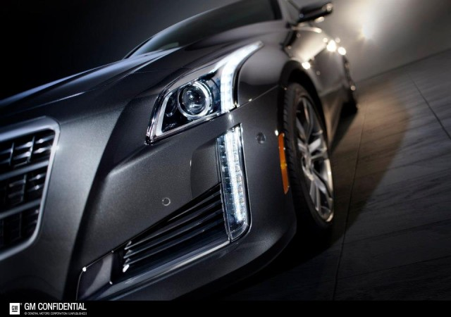 Cadillac CTS front 3:4
