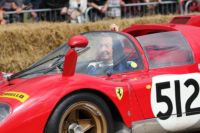 Nick Mason Ferrari