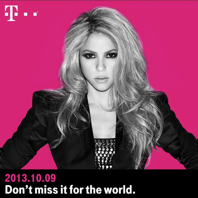 Shakira T-Mobile
