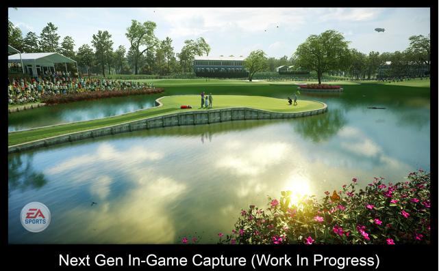 EA Sports PGA Tour game