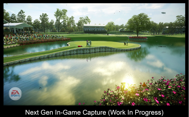 EA Sports PGA Tour game