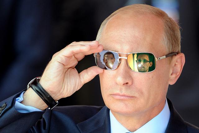 Vladimir Putin and Barack Obama