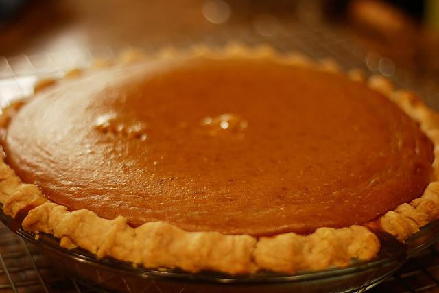 pumpkin pie, food