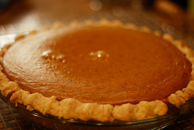 pumpkin pie, food